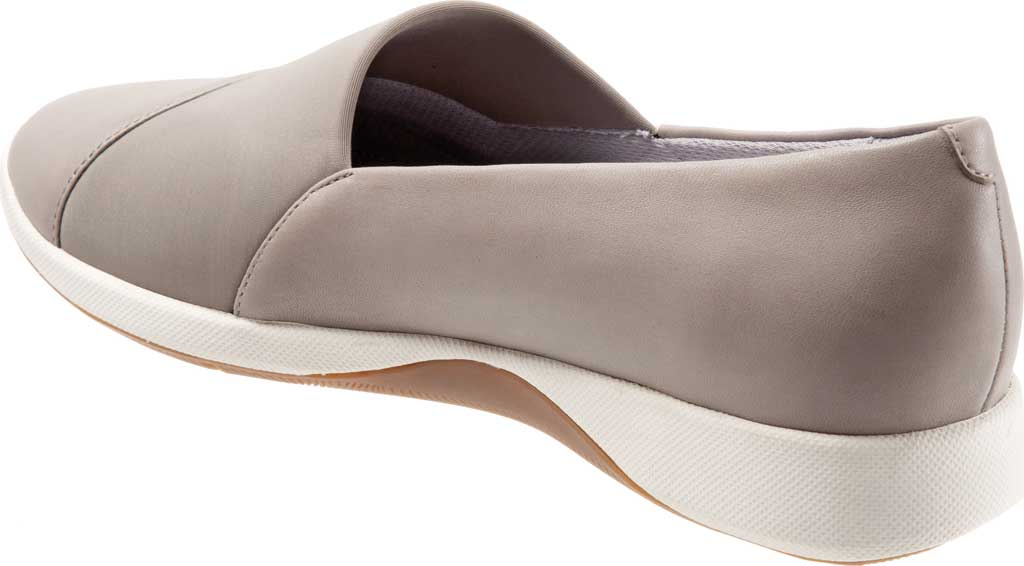Women's SoftWalk SAVA Hana Slip-On, Taupe Soft Nappa Leather, large, image 4