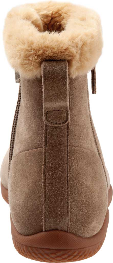 Women's SoftWalk Helena Ankle Boot, Stone Suede, large, image 4