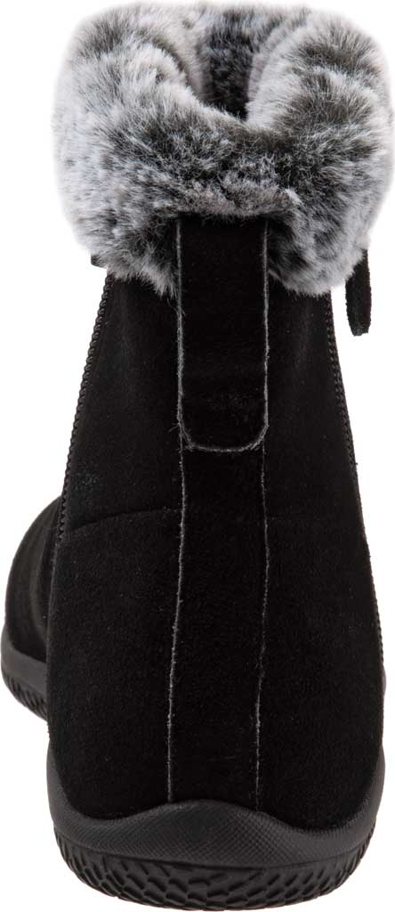 Women's SoftWalk Helena Ankle Boot, Black Suede, large, image 4