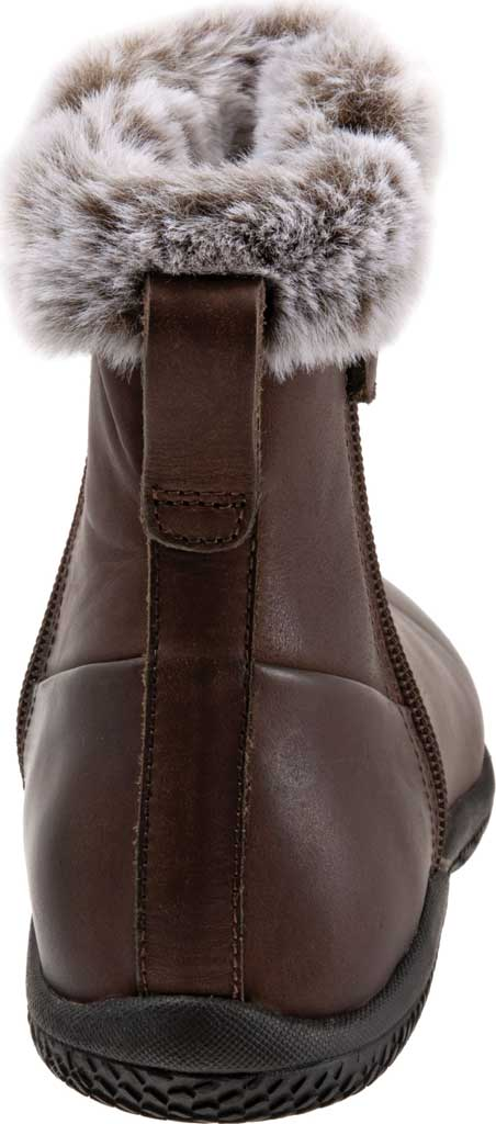 Women's SoftWalk Helena Ankle Boot, Dark Brown Oiled Full Grain, large, image 4