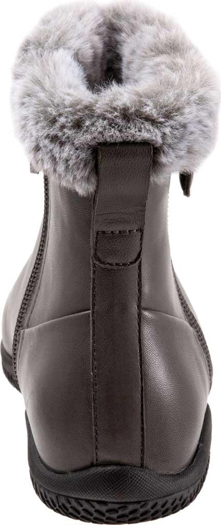Women's SoftWalk Helena Ankle Boot, Dark Grey Burnished Soft Nappa, large, image 4