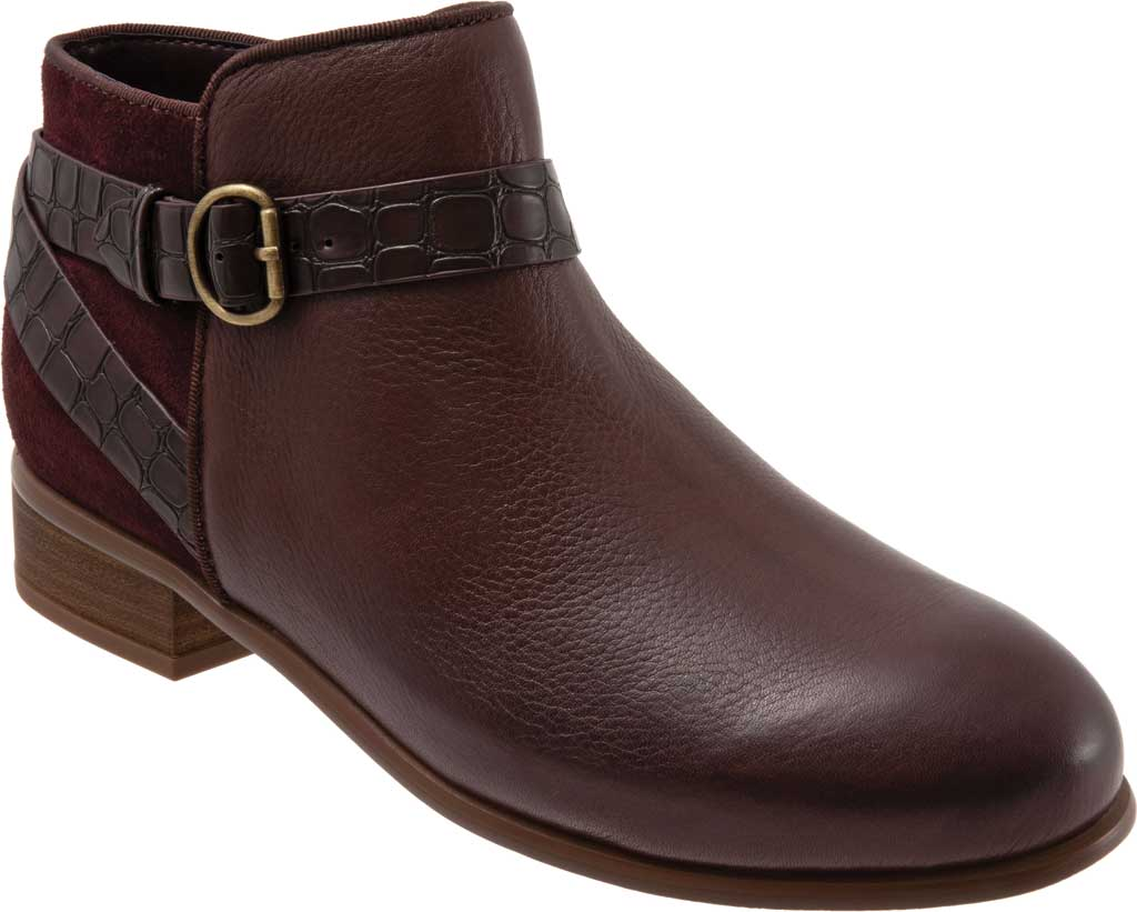 Women's SoftWalk Raveena Ankle Bootie, , large, image 1