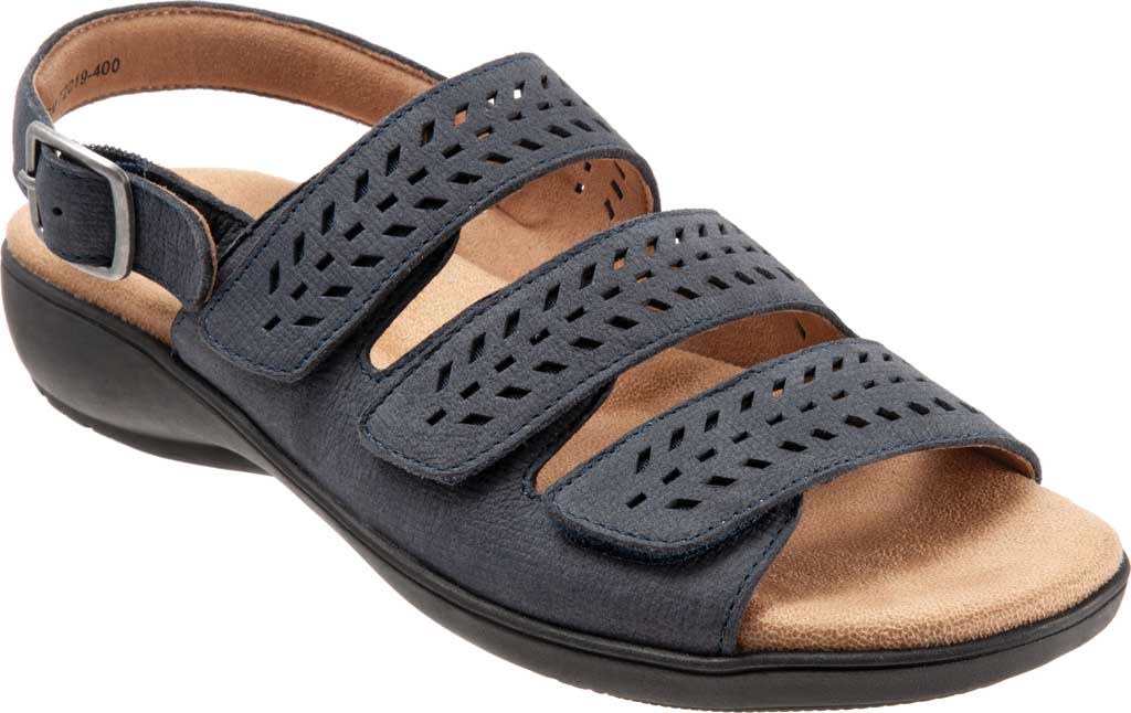 Women's Trotters Trinity Perforated Slingback Sandal, , large, image 1