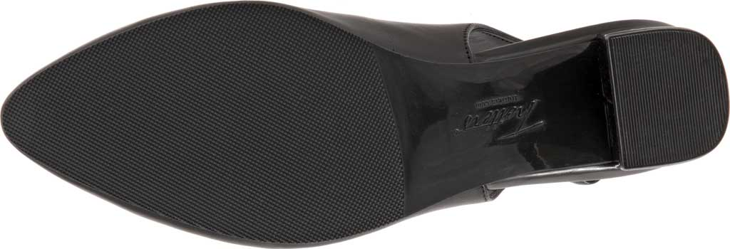 Women's Trotters Kay Slingback, Black Soft Nappa Leather, large, image 6