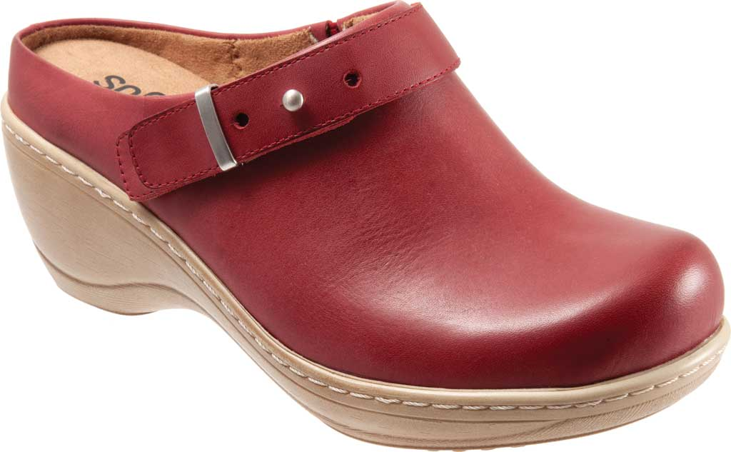 Women's SoftWalk Marquette Wedge Clog, , large, image 1