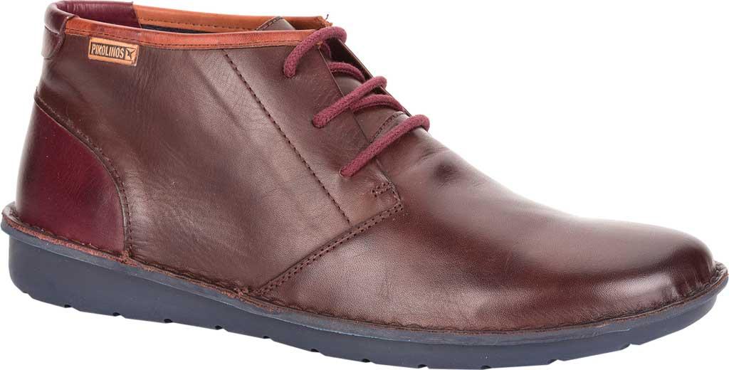 Men's Pikolinos Santiago Chukka Boot M7B-8012, Olmo/Garnet Leather, large, image 1