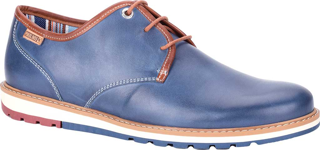 Men's Pikolinos Berna Lace Up Oxford M8J-4195, Nautic Leather, large, image 1