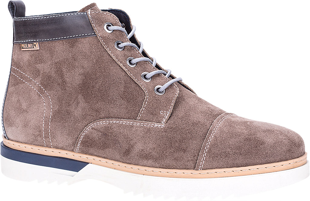 Men's Pikolinos Napoles Boot M4M-8173SO, Taupe Suede, large, image 1
