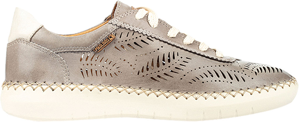 Women's Pikolinos Mesina Hand Sewn Perf Sneaker W0Y-6828, Slate Leather, large, image 2