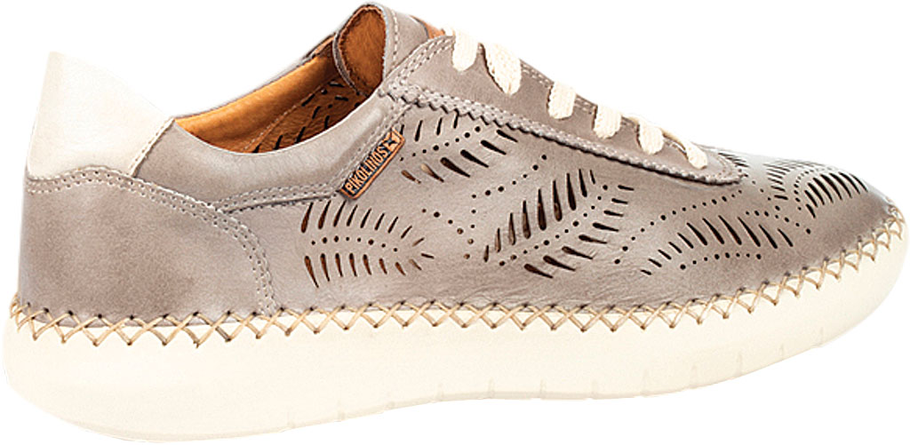 Women's Pikolinos Mesina Hand Sewn Perf Sneaker W0Y-6828, Slate Leather, large, image 3
