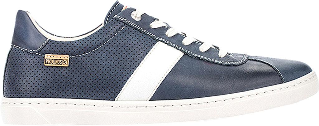 Men's Pikolinos Belfort Sneaker M8K-6250KN, Blue Leather, large, image 2