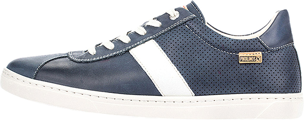 Men's Pikolinos Belfort Sneaker M8K-6250KN, Blue Leather, large, image 3