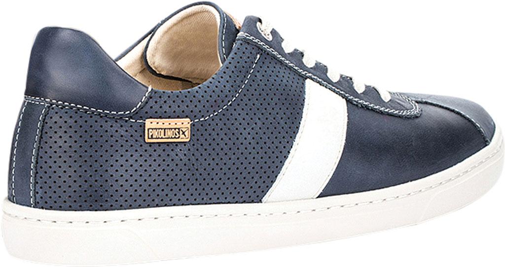Men's Pikolinos Belfort Sneaker M8K-6250KN, Blue Leather, large, image 4