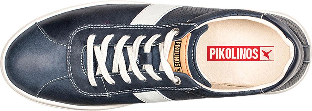 Men's Pikolinos Belfort Sneaker M8K-6250KN, Blue Leather, large, image 5