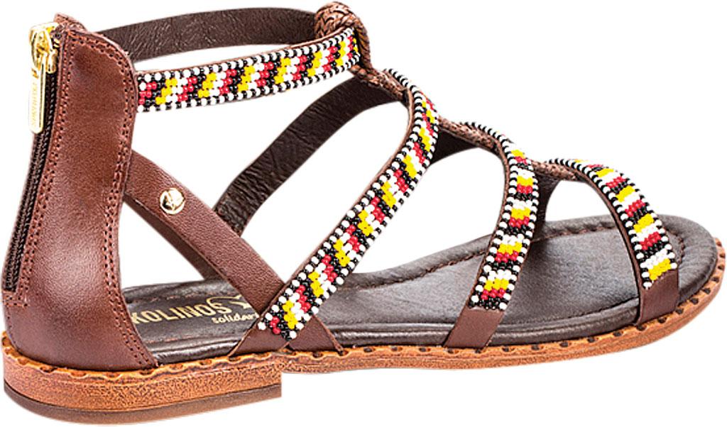 Women's Pikolinos Algar Gladiator Sandal W0X-MA0618, Olmo Leather, large, image 3