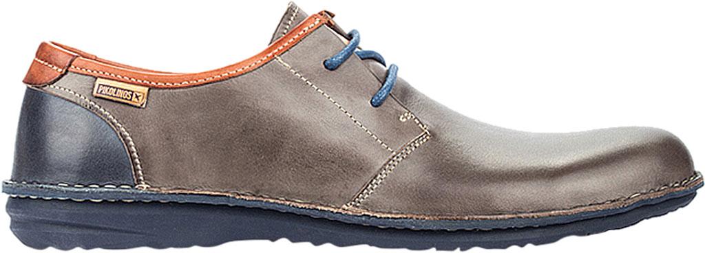 Men's Pikolinos Santiago Oxford M8M-4298, Dark Grey Leather, large, image 2