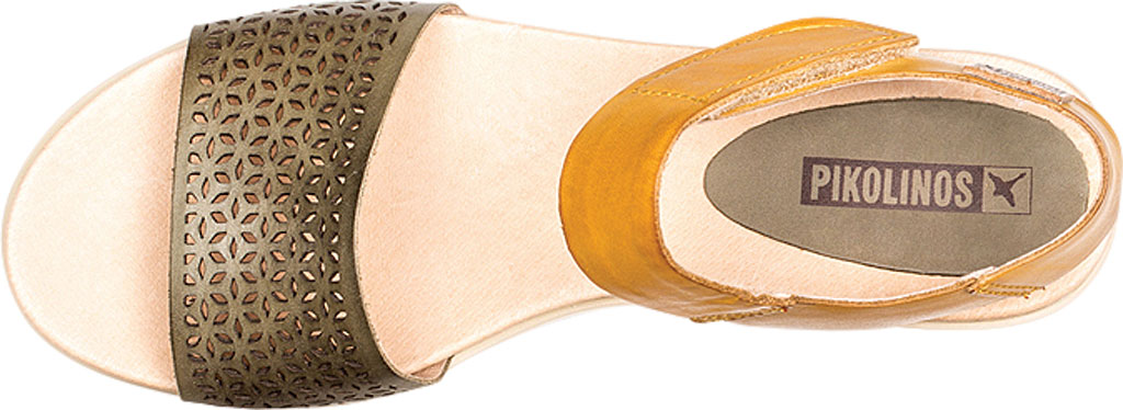 Women's Pikolinos Mykonos Sandal W1G-1733, Mar Leather, large, image 4