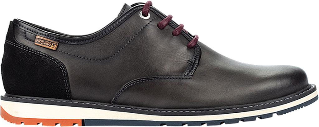 Men's Pikolinos Berna Oxford M8J-4236, Lead Calfskin Leather, large, image 2