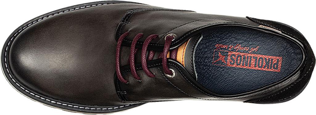 Men's Pikolinos Berna Oxford M8J-4236, Lead Calfskin Leather, large, image 4