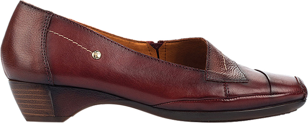 Women's Pikolinos Gandia Heeled Loafer 849-5926, Arcilla Calfskin Leather, large, image 2