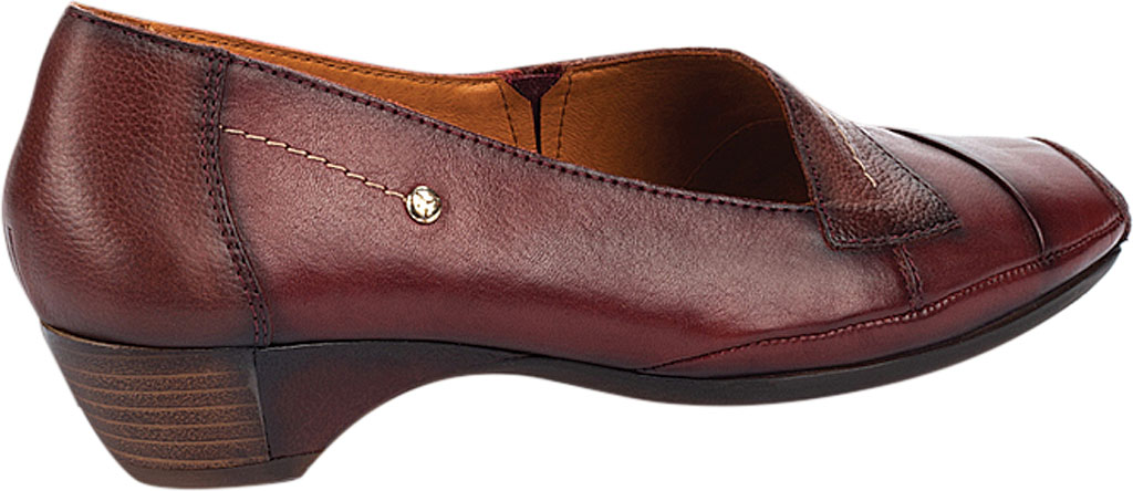 Women's Pikolinos Gandia Heeled Loafer 849-5926, Arcilla Calfskin Leather, large, image 3