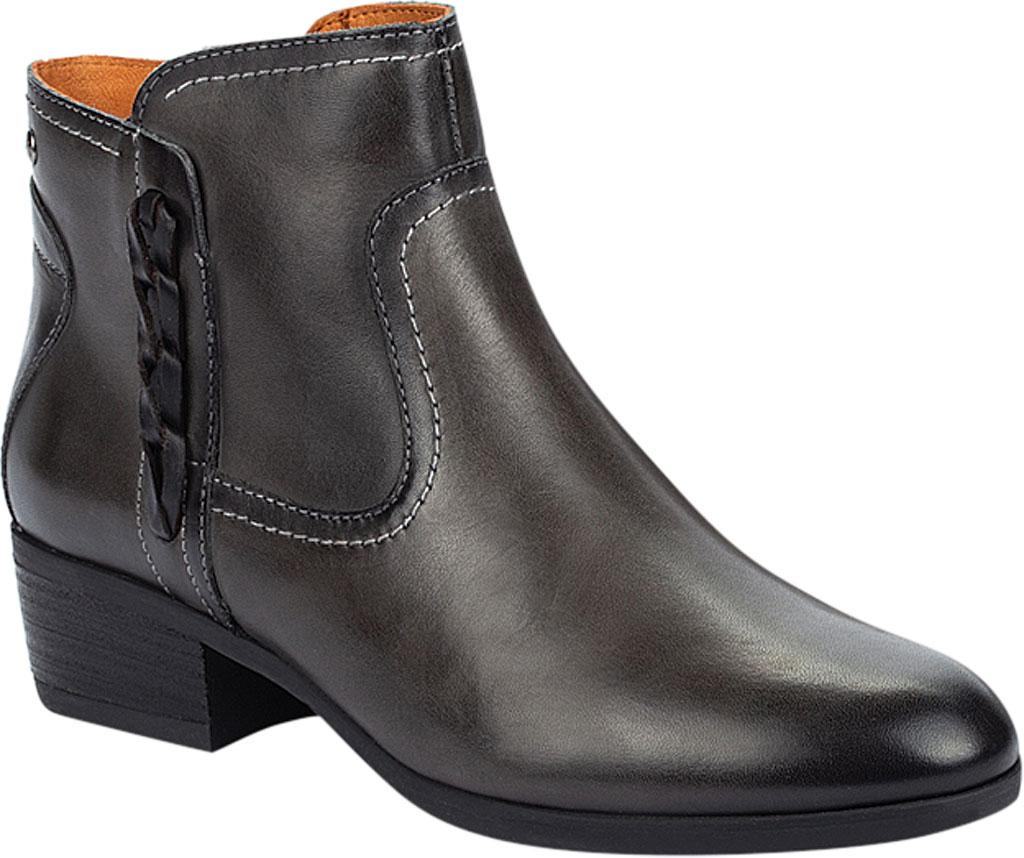 Women's Pikolinos Daroca Ankle Bootie W1U-8774, Lead Calfskin Leather, large, image 1