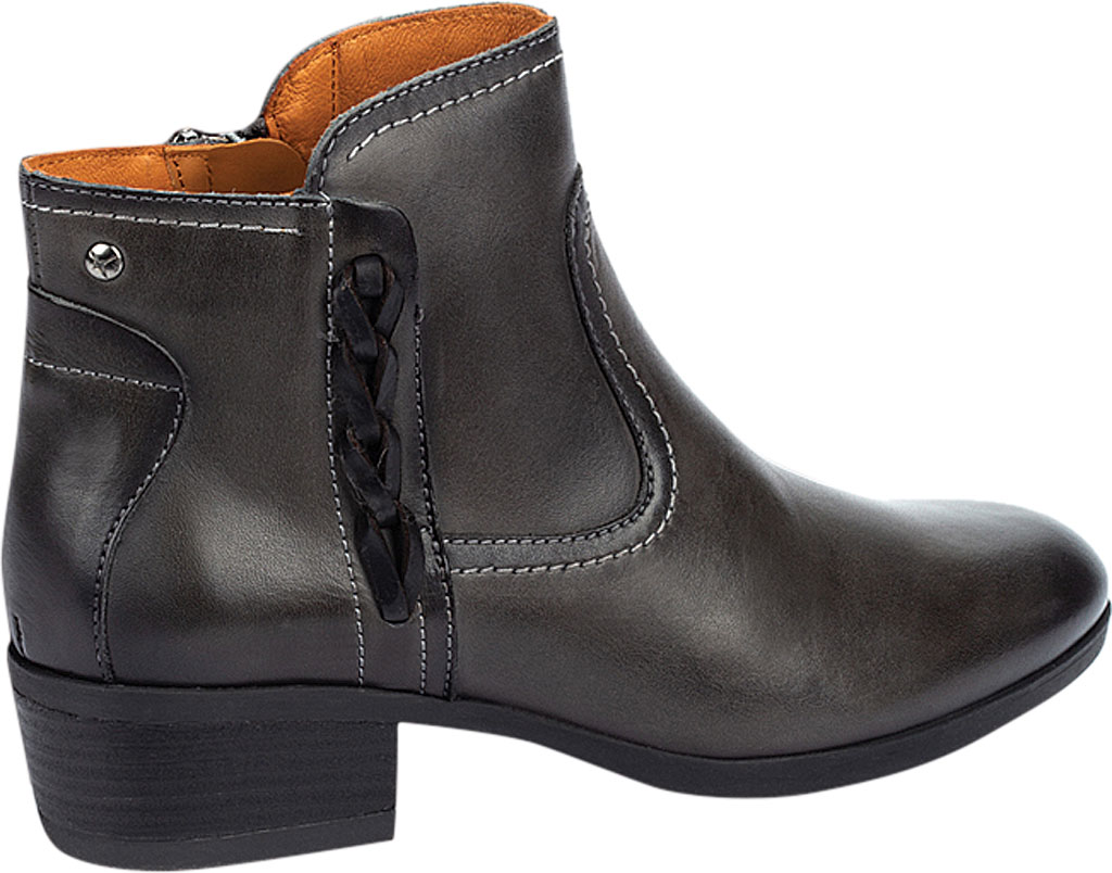 Women's Pikolinos Daroca Ankle Bootie W1U-8774, Lead Calfskin Leather, large, image 3