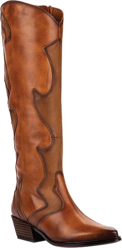 Women's Pikolinos Vergel Knee High Boot W5Z-9950, Brandy Calfskin Leather, large, image 1