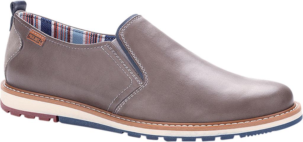 Men's Pikolinos Berna Slip On M8J-3184, Dark Grey Calfskin Leather, large, image 1
