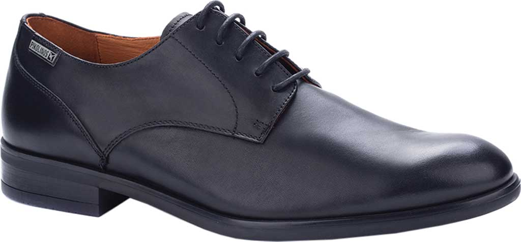 Men's Pikolinos Bristol Oxford M7J-4187, Black Calfskin Leather, large, image 1
