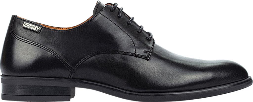 Men's Pikolinos Bristol Oxford M7J-4187, Black Calfskin Leather, large, image 2