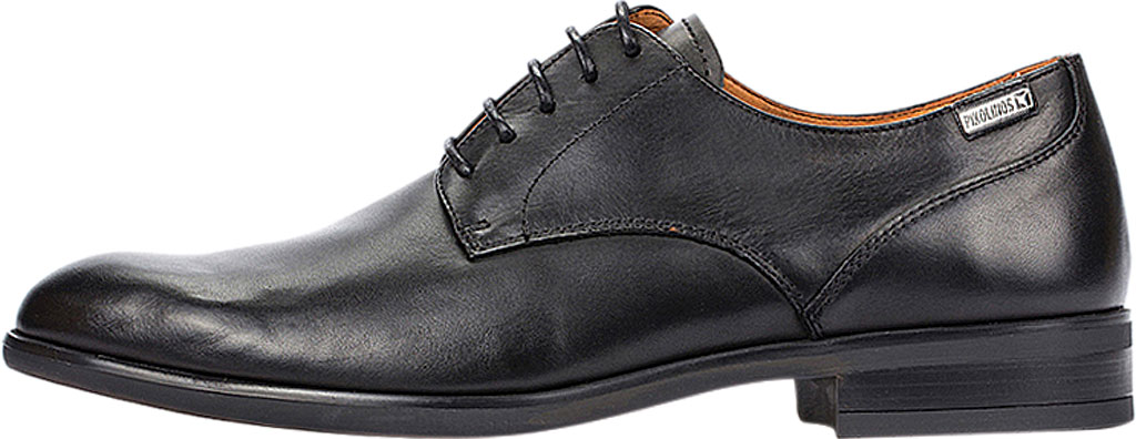 Men's Pikolinos Bristol Oxford M7J-4187, Black Calfskin Leather, large, image 3