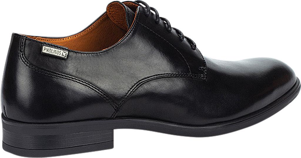 Men's Pikolinos Bristol Oxford M7J-4187, Black Calfskin Leather, large, image 4