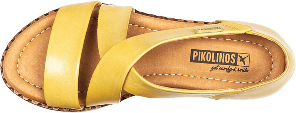 Women's Pikolinos Algar Strappy Sandal W0X-0552, Sol Calfskin, large, image 4