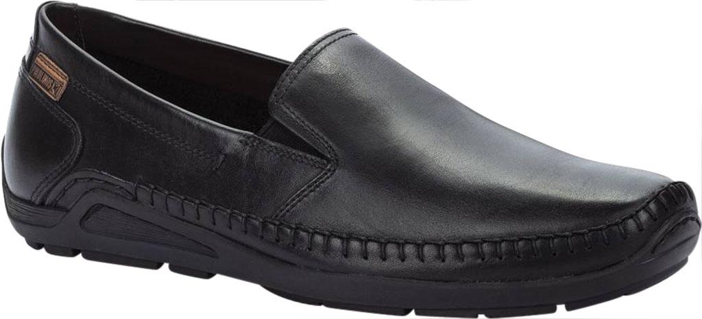 Men's Pikolinos Azores Loafer 06H-5303, Black Calfskin, large, image 1