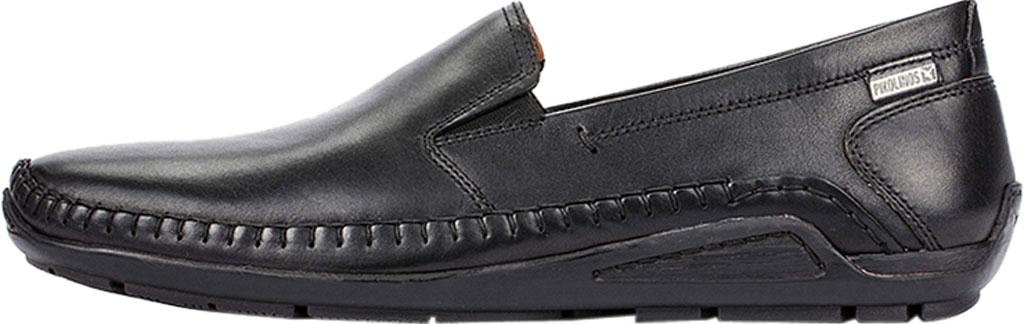 Men's Pikolinos Azores Loafer 06H-5303, Black Calfskin, large, image 3