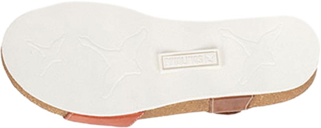 Women's Pikolinos Mahon Wedge Sandal W9E-0833C1, Scarlet Calfskin, large, image 5