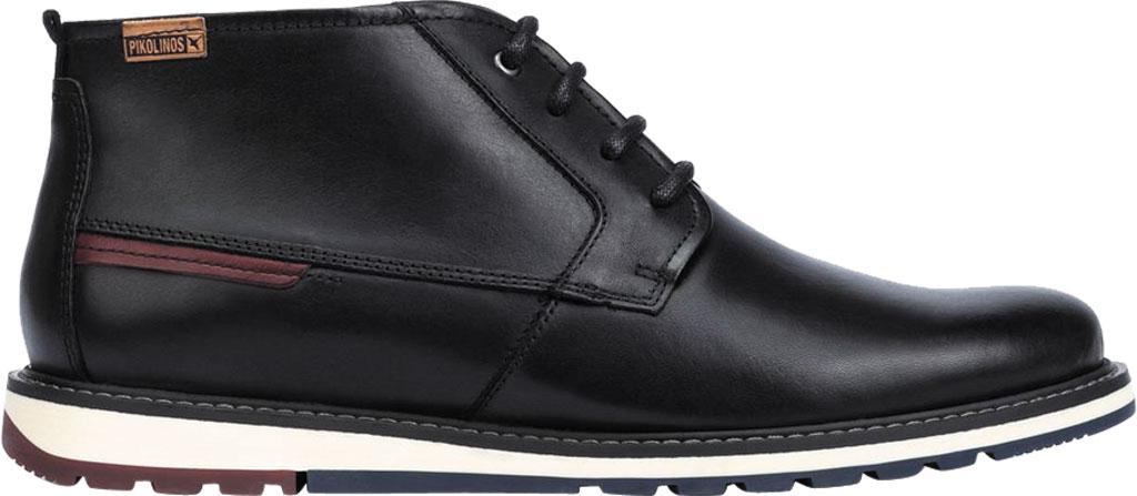Men's Pikolinos Berna Ankle Boot M8J-8198, Black Calfskin Leather, large, image 2