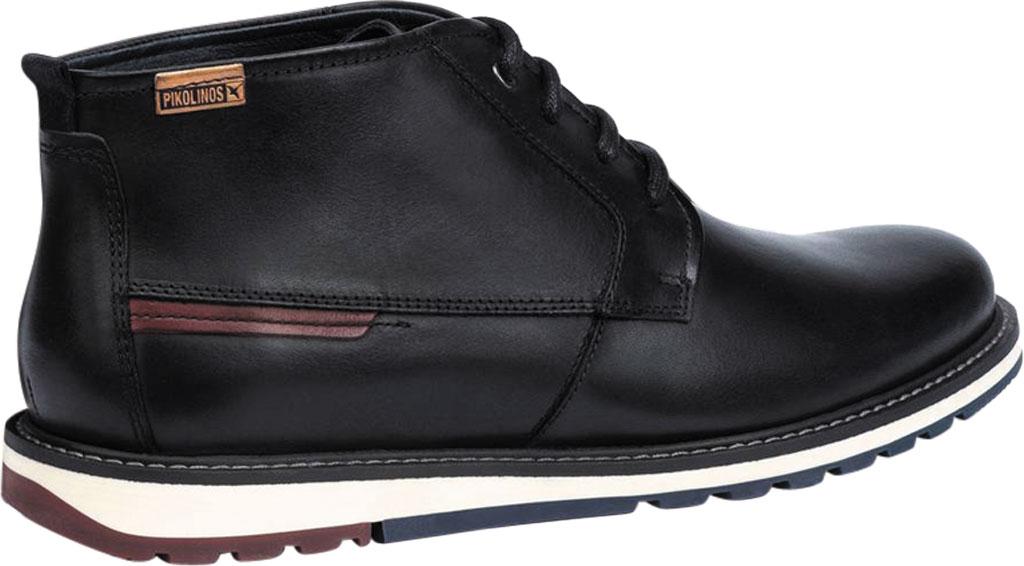Men's Pikolinos Berna Ankle Boot M8J-8198, Black Calfskin Leather, large, image 3