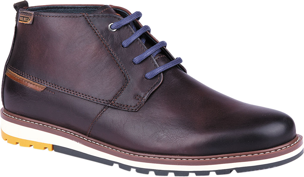 Men's Pikolinos Berna Ankle Boot M8J-8198, Olmo Calfskin Leather, large, image 1