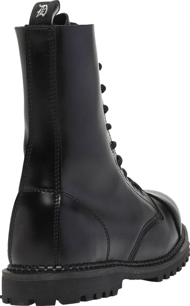 Men's Demonia Rocky 10, Black Leather, large, image 4