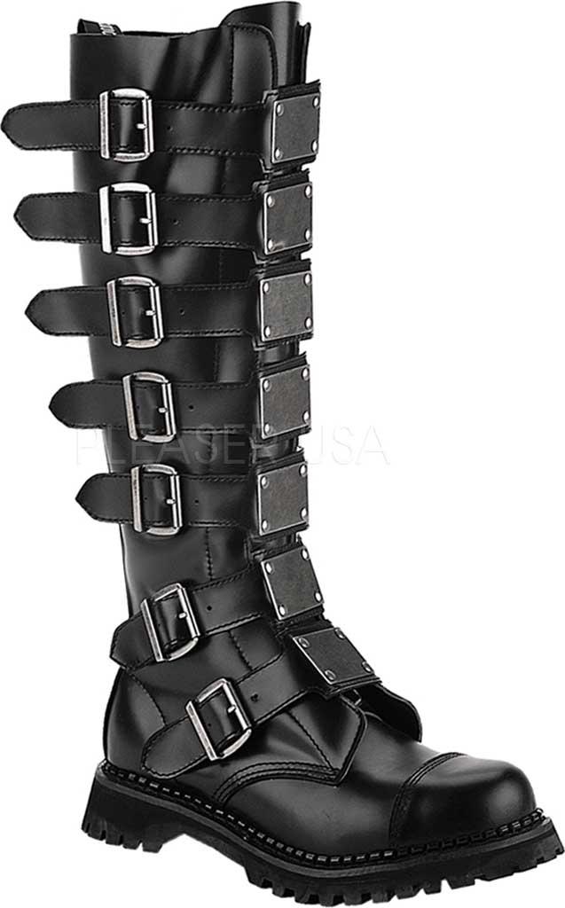Men's Demonia Reaper 30, Black Leather, large, image 1