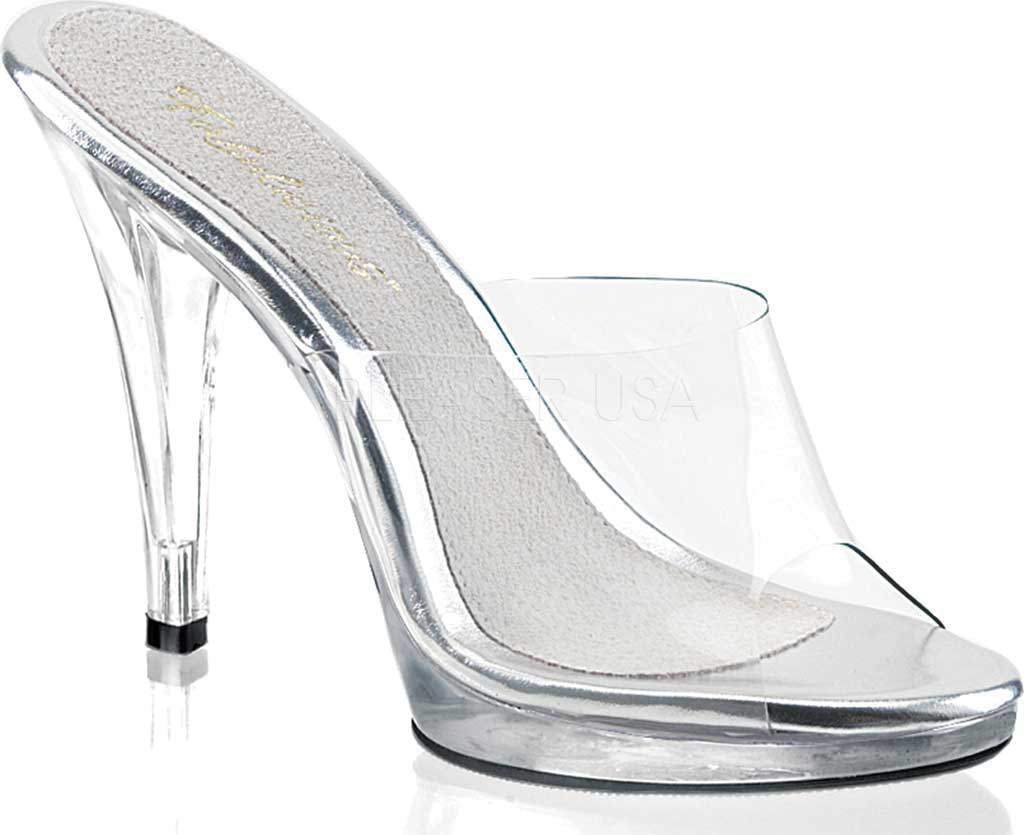 Women's Fabulicious Flair 401, Clear/Clear, large, image 1