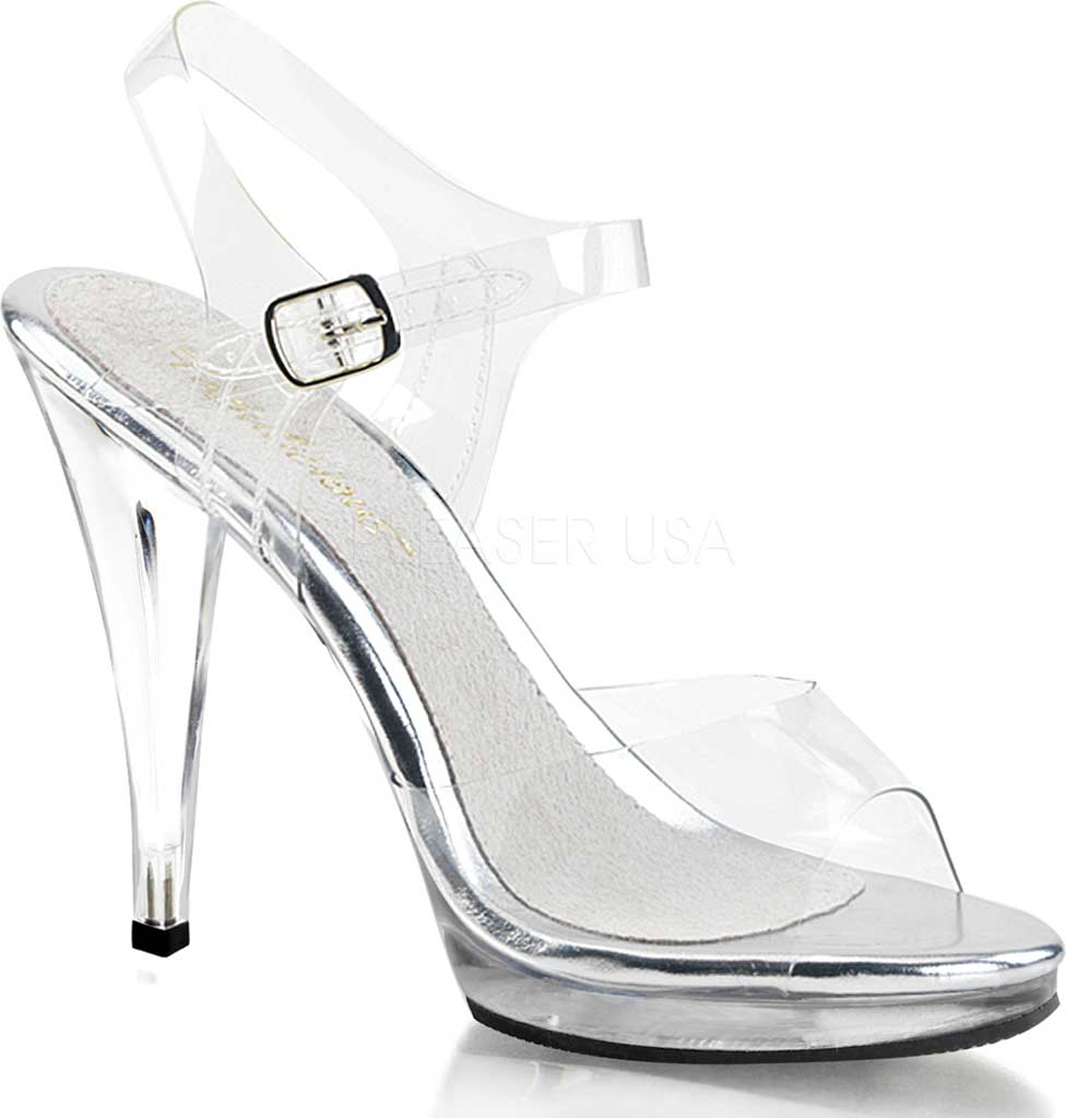 Women's Fabulicious Flair 408, Clear/Clear, large, image 1