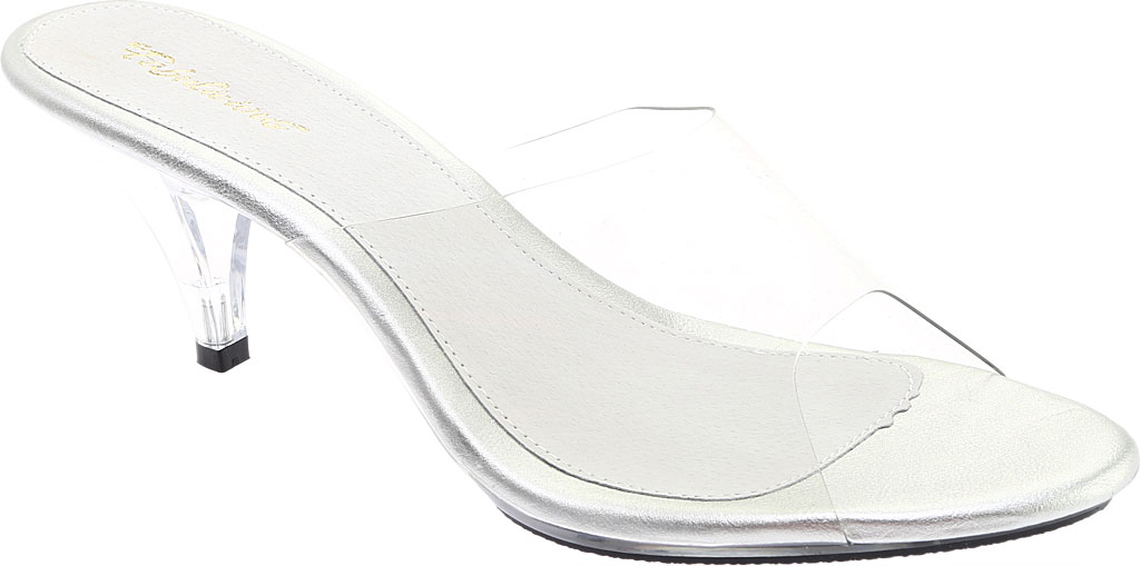 Women's Fabulicious Belle 301, Clear/Clear, large, image 1