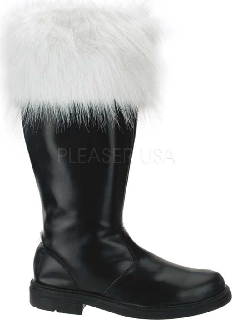 Men's Funtasma Santa 108, Black PU/Faux Fur, large, image 1