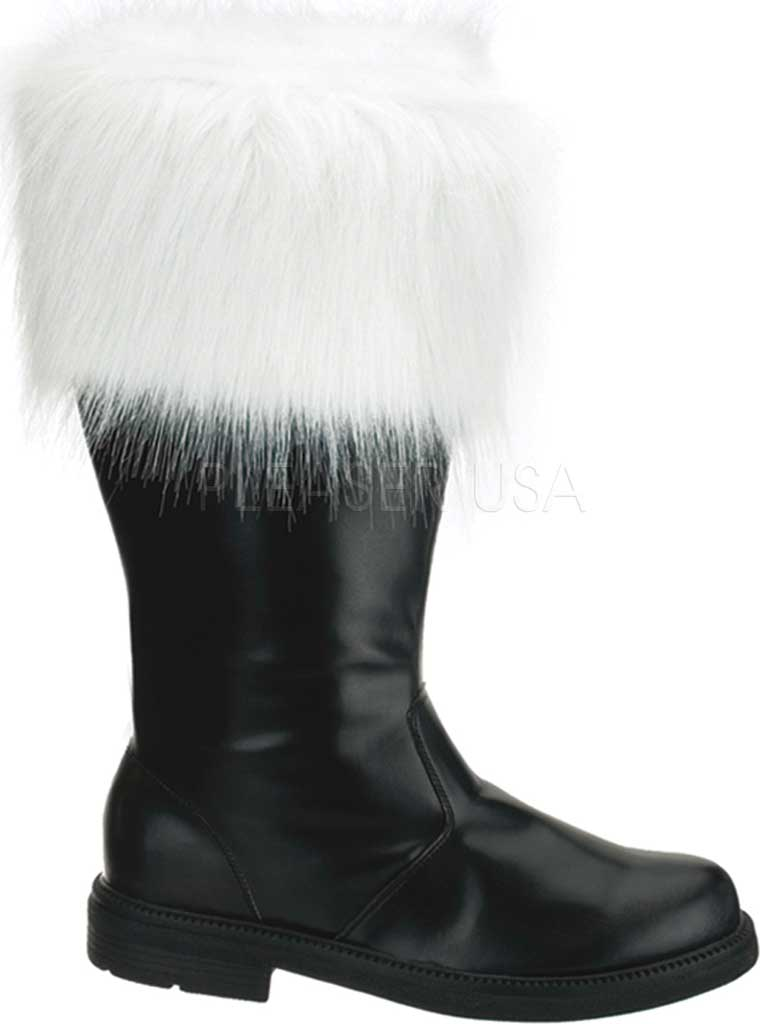 Men's Funtasma Santa 100, Black PU/Faux Fur, large, image 1