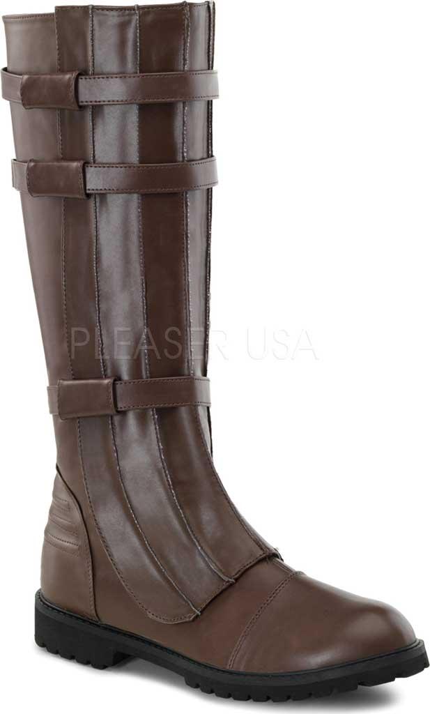 Men's Funtasma Walker 130 Knee High Boot, Brown PU, large, image 1