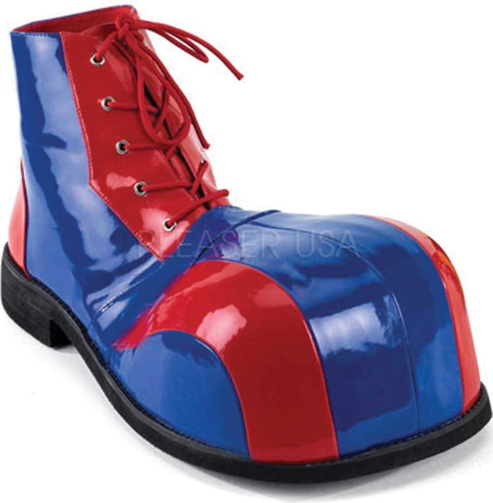 Men's Funtasma Clown 05, Red/Blue Patent, large, image 1