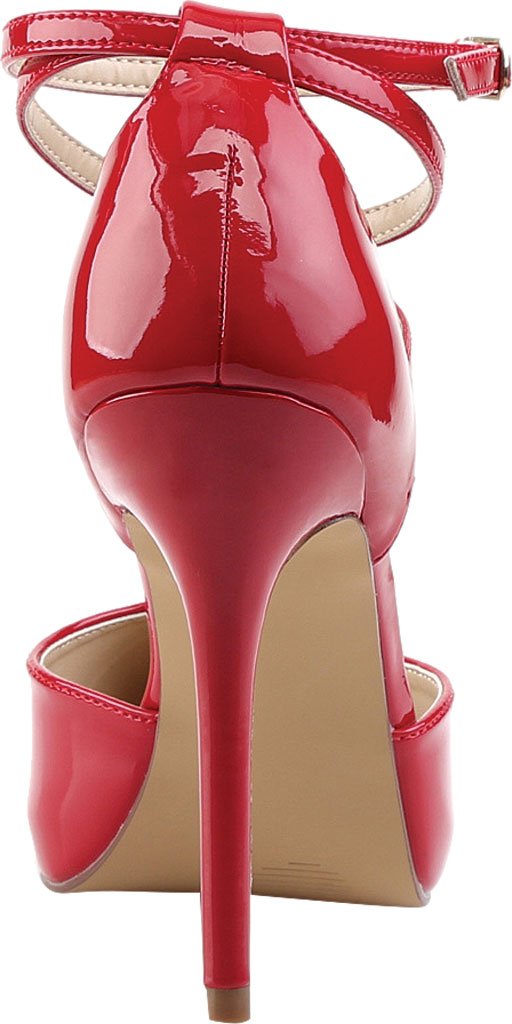 Women's Pleaser Amuse 25, Red Patent, large, image 4